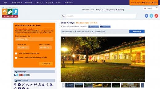 RoomsBook - Hotel Booking Engine