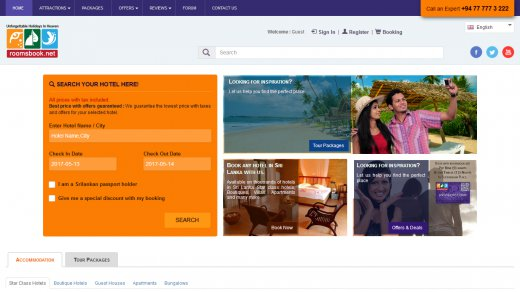 RoomsBook - Hotel Booking Engine